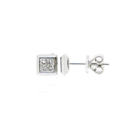 diamond stud earrings   B17245