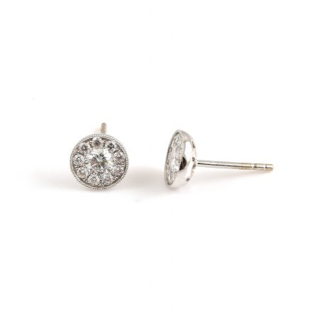 Diamond Earrings | B19430