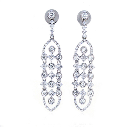 Diamond Chandelier Dress Earrings | B19432