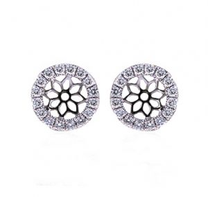 diamond earring enhancers | B19640