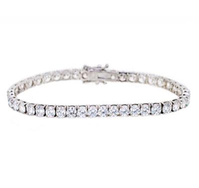 Diamond Claw Set Tennis Bracelet | B19799