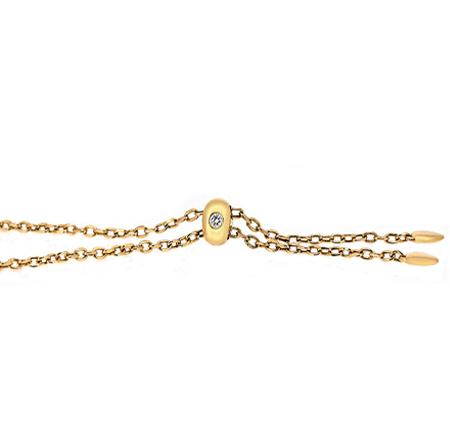 Yellow Gold Diamond Bracelet | B19857