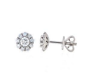 Diamond Earrings | B19747