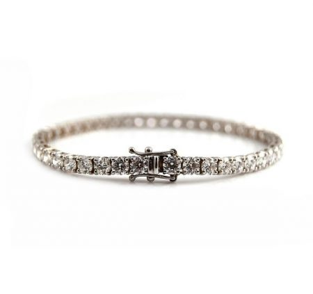 Diamond Claw Set Tennis Bracelet | B19799