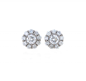 Diamond Earrings | B19747