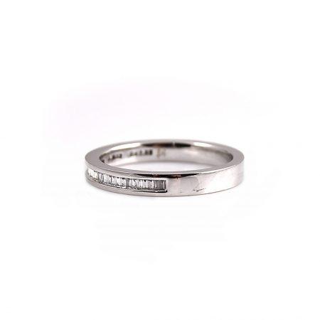 Channel Set Baguette Cut Diamond Wedding Ring   B12193