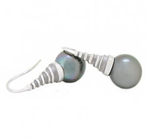 South Sea Pearl Autore Earrings | B13602