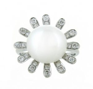 fresh water pearl ring | B15365