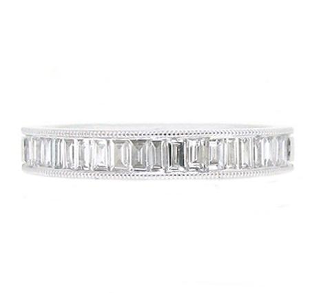 Baguette Cut Diamond Wedding Ring | B16919
