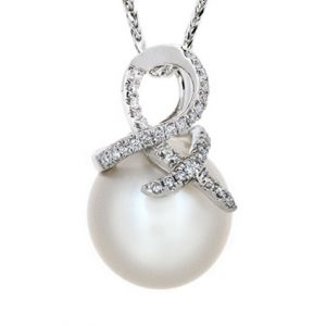 south sea pearl pendant| B17027