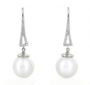 autore south sea pearl earrings | B17469