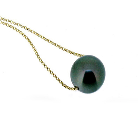 Tahitian south sea pearl necklace | B17683