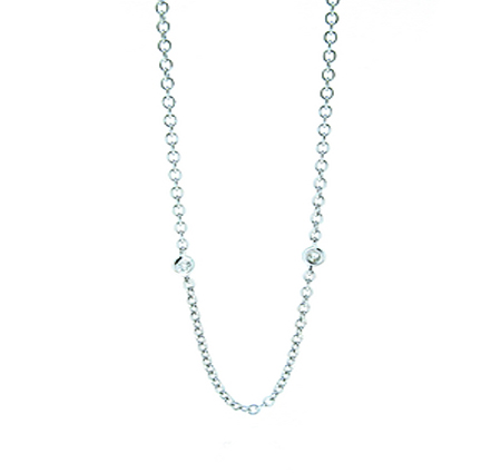 diamond necklace | B18171