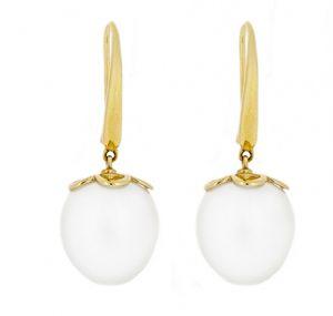 autore south sea pearl earrings | B18593