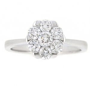Diamond Cluster Ring | B19117