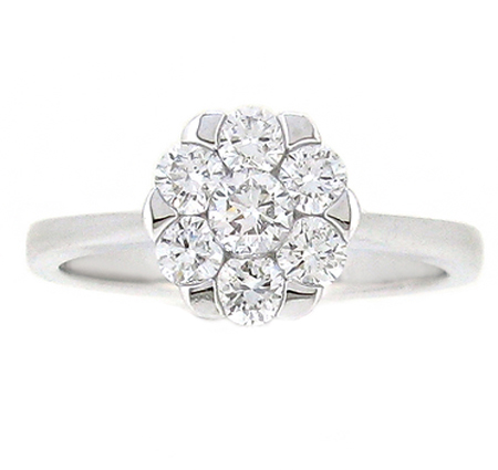 Diamond Cluster Ring | B19117