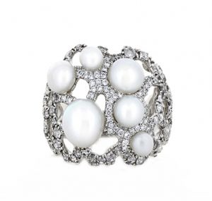 autore south sea pearl ring | B19354