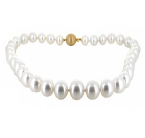 Autore Yellow Gold South Sea Pearl Strand Necklace | B19452