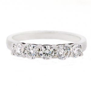 diamond wedding band | B19736