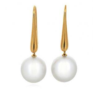 autore south sea pearl earrings   B19920