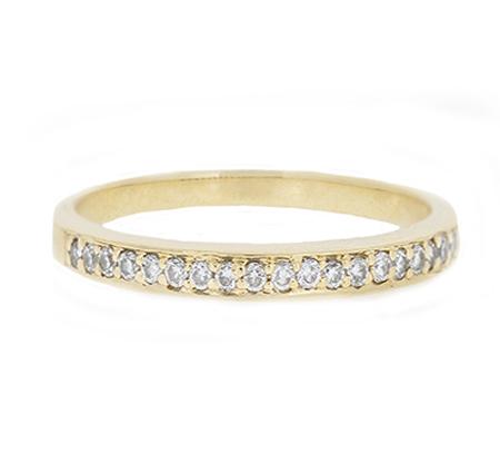 diamond wedding band | B9660