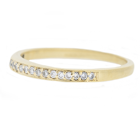 diamond wedding band   B9660