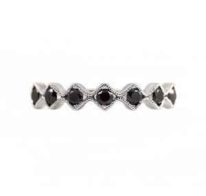 Black Diamond Ring | B17283
