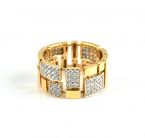 Yellow Gold Diamond Dress Ring | B14959