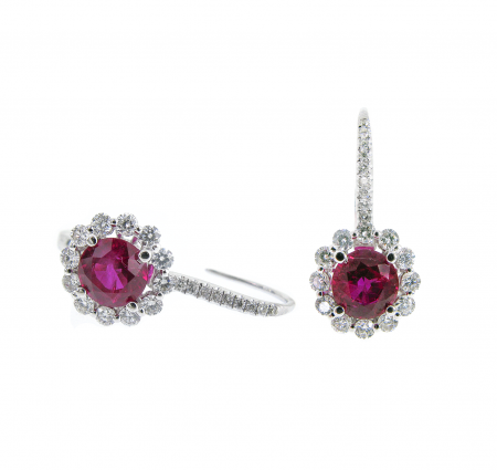 Ruby Earrings | B16456(2)