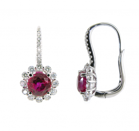 Ruby Earrings | B16456(3)