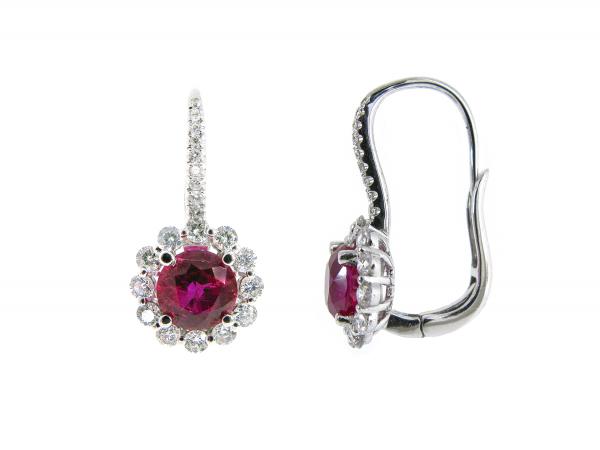 Ruby Earrings | B16456(3)