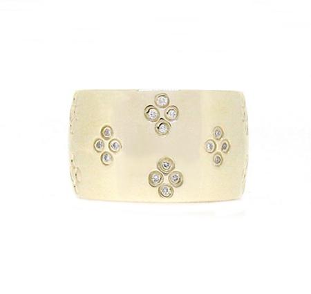 Yellow Gold Diamond Dress Ring | B17788
