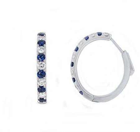 sapphire earrings | B18177
