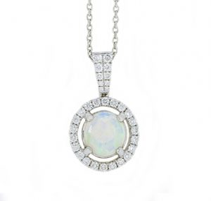 opal necklace | B18399