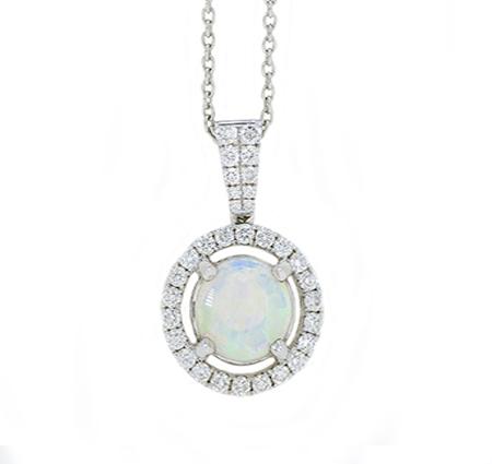 opal necklace | B18399