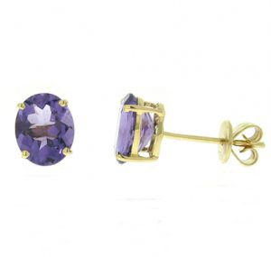 amethyst earrings | B18508