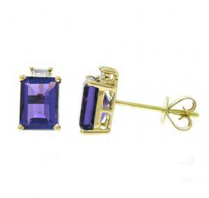 amethyst earrings | B18509