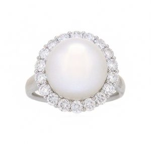 south sea pearl ring | B19218