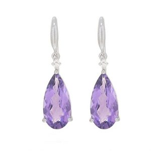 Amethyst Earrings | B19287