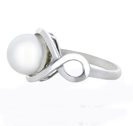 south sea pearl ring | B19517
