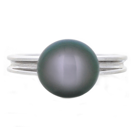 south sea pearl ring | B19699