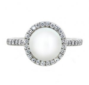 south sea pearl ring | B19745