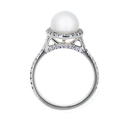 south sea pearl ring | B19745