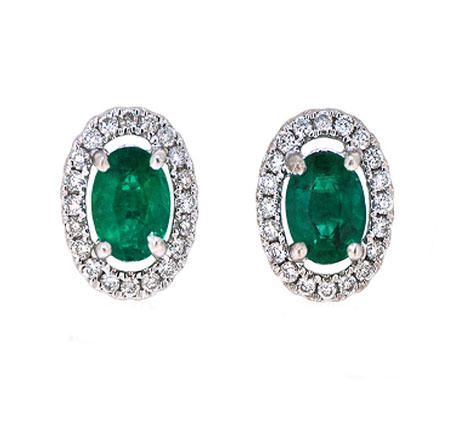 Emerald Earrings | B20058