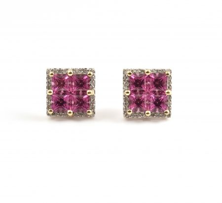 Garnet Earrings | B8478