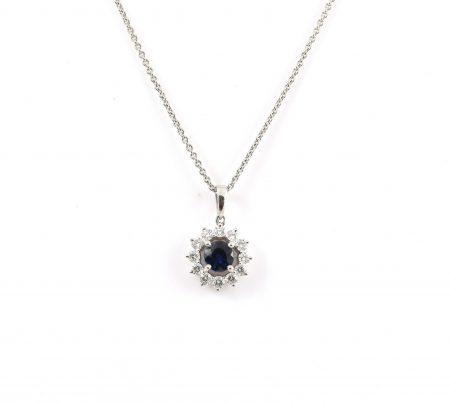 Sapphire Pendant   B18401