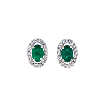 Emerald Earrings | B20058
