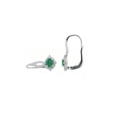 Emerald Earrings | B17453