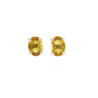 Citrine Earrings   B18513