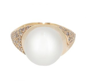 Autore south sea pearl ring | B13905